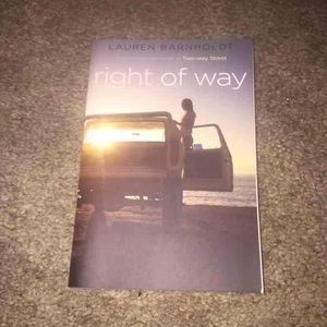 """""""Right of Way"""" book"""
